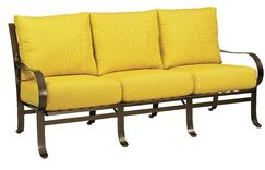 Cascade Sofa with Cushions Fabric: Brisa Distressed Charcoal
