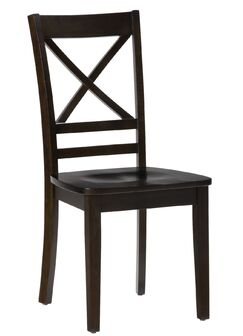 Hammock Wooden Solid Wood Dining Chair Color: Espresso Brown