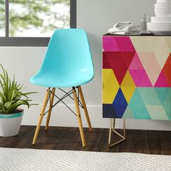 Coleford Dining Chair Color: Ocean Blue