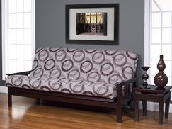 Armas Box Cushionfuton Slipcover Size: 7 in. Full