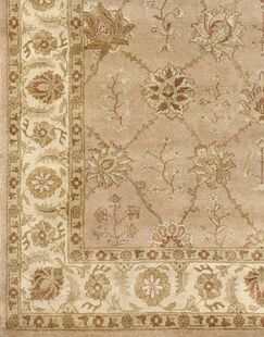 Zambrano Wool Biege Area Rug Rug Size: Rectangle 6' x 9'