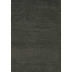 Strata Black/Gray Area Rug Rug Size: Rectangle 2' x 3'
