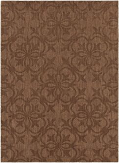 Beazer Patterned Tranditional Brown Area Rug Rug Size: 7' x 10'