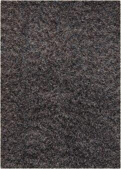 Steil Black Area Rug Rug Size: Rectangle 7'9