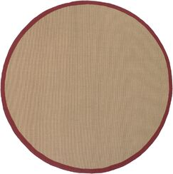 Eastwood Red/Tan Area Rug Rug Size: Rectangle 9' x 13'