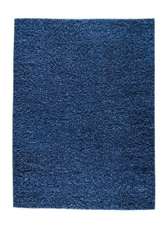 Goliath Mix Blue Contemporary Rug Rug Size: Rectangle 4'6