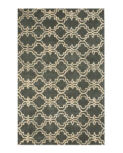 Radcliffe Hand-Tufted Wool Green Area Rug