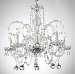 Juergens 5-Light Candle Style Chandelier