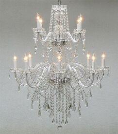 Linn 12-Light Candle Style Chandelier