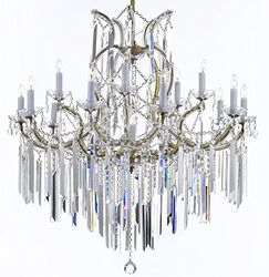 Dacia Candle Style Chandelier Finish: Golden