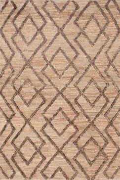 Marco Oak Cut-pile Brown Area Rug Rug Size: Rectangle 10' x 14'