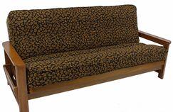 Tapestry Box Cushion Futon Slipcover Set Upholstery: Kenya