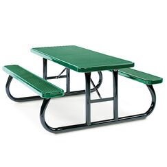 Picnic Table Finish: Green
