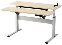 Equity Height Adjustable Training Table Size: 24