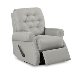 Vinton Glider Swivel Recliner Body Fabric: Sunbrella® Spectrum Carbon