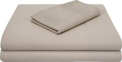 Rayon from Bamboo Bed Sheet Set Color: Driftwood, Size: Extra-Long Full