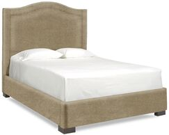 Dreamtime Upholstered Panel Bed Color: Stone, Size: Queen