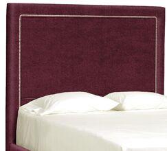 Dreamtime Upholstered Panel Headboard Size: Queen, Upholstery: Merlot