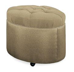 Mondo Ottoman Upholstery: Stone
