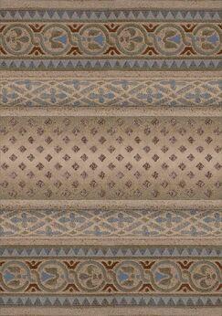 Signature Mohavi Sandstone Folk/Tribal Area Rug Rug Size: Oval 5'4