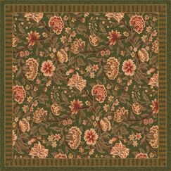 Pastiche Vachell Deep Olive Area Rug Rug Size: Rectangle 2'8