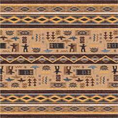 Pastiche Wide Ruins Velvet Brown Area Rug Rug Size: Rectangle 2'8