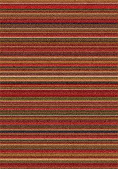 Modern Times Canyon Dark Red Area Rug Rug Size: Rectangle 3'10