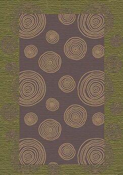 Innovation Wabi Celadon Area Rug Rug Size: Oval 5'4