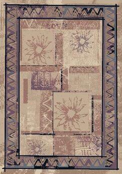 Innovation Rose Sandstone Soleil Area Rug Rug Size: Rectangle 7'8
