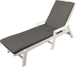 Indoor/Outdoor Sunbrella Chaise Lounge Cushion Size: 22