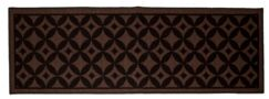 Bordeaux Chocolate Area Rug Rug Size: 5' x 7'