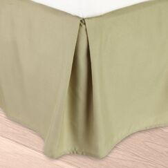 Blondell Tailored 1800 Thread Count Bed Skirt Color: Sage Green, Size: King