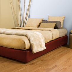 Upholstered Panel Bed Color: Black, Size: King