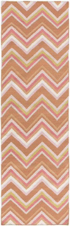 Diego Chevron Wool Area Rug Rug Size: Rectangle 8' x 11'