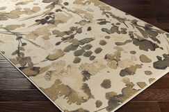 Divernon Beige Floral and Plants Area Rug Rug Size: Rectangle 2' x 3'3