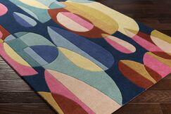 Dewald Hand-Tufted Blue/Beige Area Rug Rug Size: Rectangle 12' x 15'