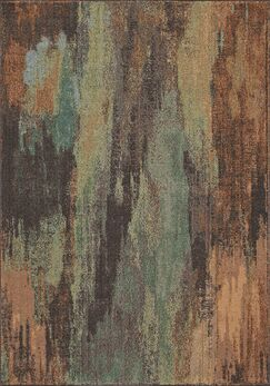 Whitchurch Brown Area Rug Rug Size: Rectangle 5'3
