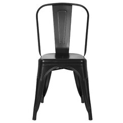 Alyssa Dining Chair Finish: Black