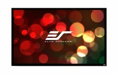 ezFrame Plus Series White Fixed Frame Projection Screen Viewing Area: 300