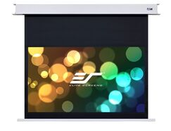 Evanesce White Electric Projection Screen Viewing Area: 100