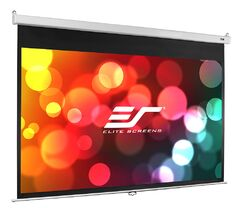 Manual SRM Pro Series White Manual Projection Screen Viewing Area: 99