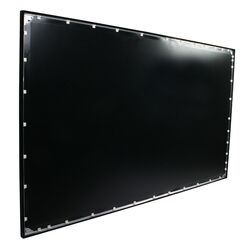 ezFrame Grey Fixed Frame Projection Screen Viewing Area: 110