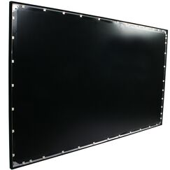 Grey Fixed Frame Projection Screen Viewing Area: 180