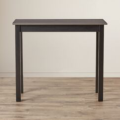 Hawkes Functional Dining Table Finish: Black