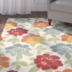 Beatrice Ivory Area Rug Rug Size: Rectangle 2'6
