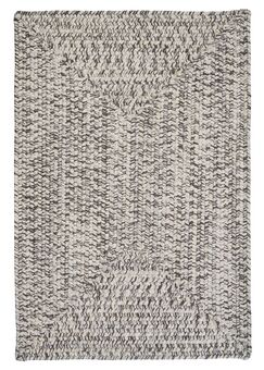 Beltran Silver Shimmer Braided Area Rug Rug Size: Rectangle 7' x 9'