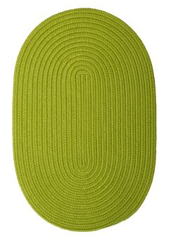 Mcintyre Bright Green Indoor/Outdoor Area Rug Rug Size: Oval 10' x 13'
