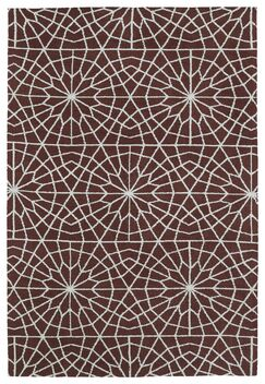 Sharie Burgundy Area Rug Rug Size: Rectangle 8' x 10'