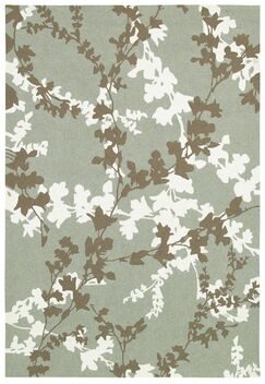 Mccall Willow Branch Hand-Woven Sage Indoor/Outdoor Area Rug Rug Size: Rectangle 8' x 11'