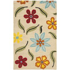 Ross Beige Area Rug Rug Size: Rectangle 3' x 5'
